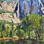 Yosemite Fall by Tomoe Nakamura