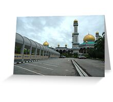 omar ali masjid Greeting Card