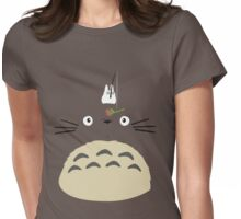 Cute Totoro  Womens Fitted T-Shirt