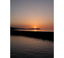 Sunset:time of the volcano Photographic Print