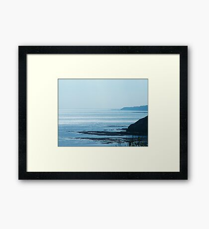 Lovely View Framed Print