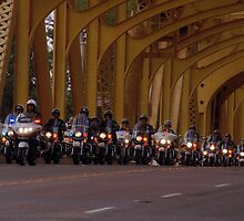 Sacramento Police - Tower Bridge by ShootinMickey