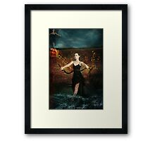 Rain Dance Framed Print