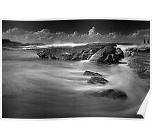 Air, Water, Rock Study V Poster