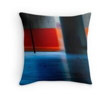 urb reverberation (time & the city) Throw Pillow