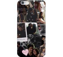damon & elena. iPhone Case/Skin