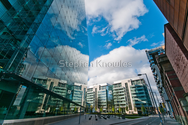 Manchester Reflections by Stephen Knowles