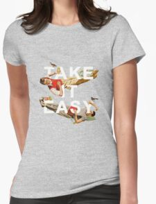Take It Easy Womens Fitted T-Shirt