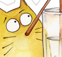 Bubble cat Sticker
