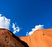The Face of Uluru by bondiphoto
