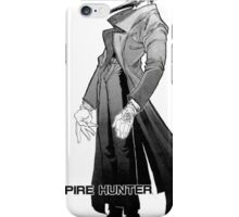 vampire hunter full iPhone Case/Skin