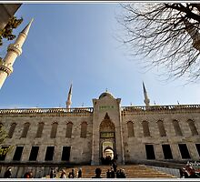 SULTANAHMET CAMİSİ-İSTANBUL by bakocaturk