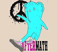 Aftermath kickflip bear Womens Fitted T-Shirt