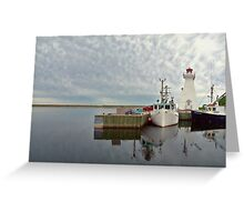 Mabou Harbour Nova Scotia Canada Greeting Card