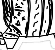 The Pig Lebowski Sticker