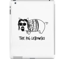 The Pig Lebowski iPad Case/Skin