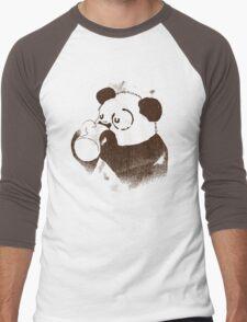 Eye Circle Men's Baseball ¾ T-Shirt