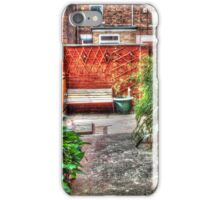 Back Yard iPhone Case/Skin