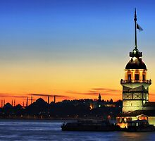 The Maiden's Tower by muharremz