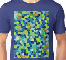 Mosaic Texture Stained Glass Unisex T-Shirt