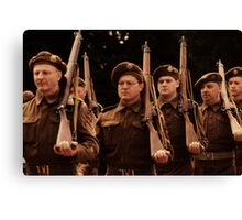 World War Two Parade Day Canvas Print