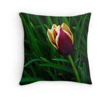 Tulip at Dusk Throw Pillow
