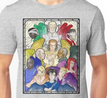 Stained Glass Garrison Unisex T-Shirt