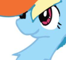Rainbow Dash Cute Sticker