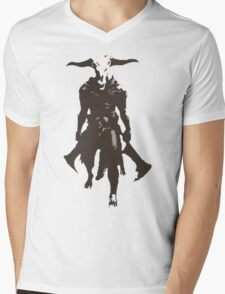 Capra Demon Mens V-Neck T-Shirt