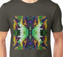Dark Green Shadows Spring Flower Mix Unisex T-Shirt