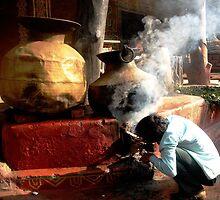 The desi food prepration ! by Amrit Ammu