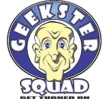 GEEKSTER SQUAD Photographic Print