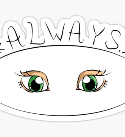 "Lily Potter || ""Always."" Sticker"