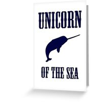 Narwhals: Unicorn of the Sea Greeting Card