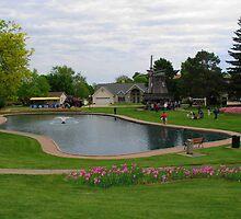 The Sunken Gardens Pella Iowa by Linda Miller Gesualdo