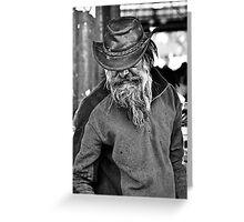 Market Man Greeting Card