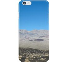Chance Mountains, Death Valley National Park iPhone Case/Skin
