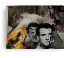 Transformation: In Memory of Jan Palach Canvas Print
