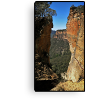 Cracking View Canvas Print