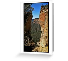 Cracking View Greeting Card