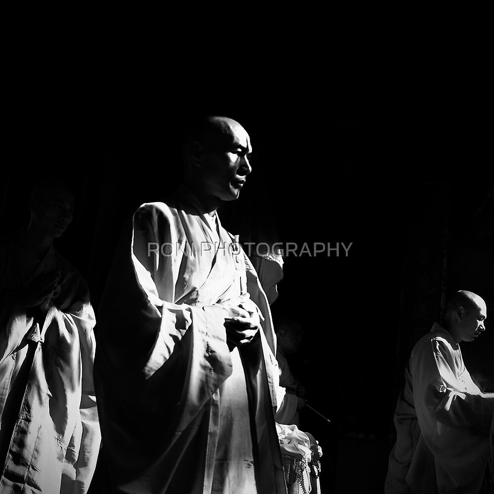 The Monks #2 by RONI PHOTOGRAPHY