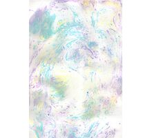 Marbled Votex - Paper Marbling Pattern Photographic Print