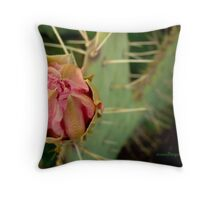 Pretty Prickly Throw Pillow