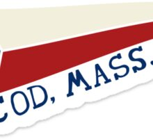 CAPE COD, MASS. Sticker
