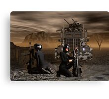 Psychic Wars Recon Scouts Canvas Print