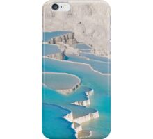 Postcard from Pamukkale, Turkey iPhone Case/Skin