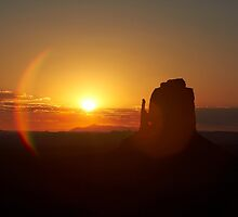 Monument Valley Sunrise, USA by Jonathan Maddock