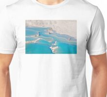 Postcard from Pamukkale, Turkey Unisex T-Shirt