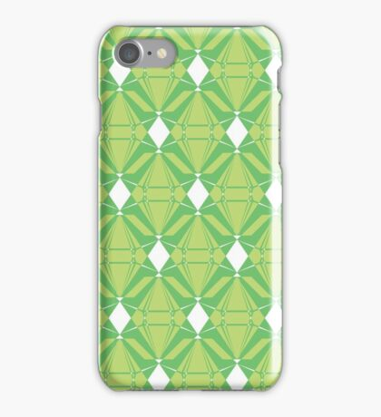 Abstract Emeralds [GREEN] iPhone Case/Skin
