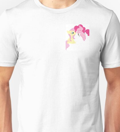 Pinkie Pie and Fluttershy Unisex T-Shirt